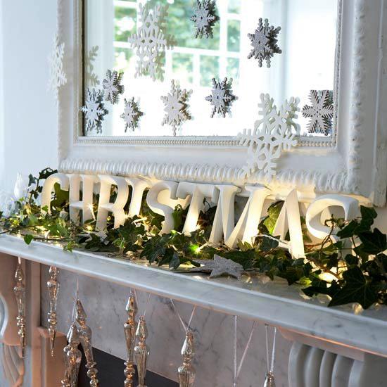 Como decorar tu chimenea en navidad blog - Como decorar una ensaladilla rusa ...
