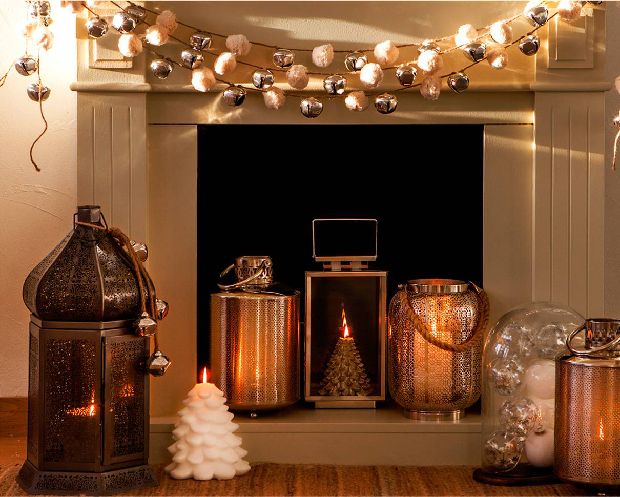 Como Decorar Tu Chimenea En Navidad Blog