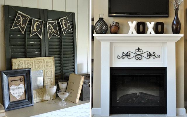 Decora tu chimenea para san valent n blog - Como decorar un salon con chimenea ...
