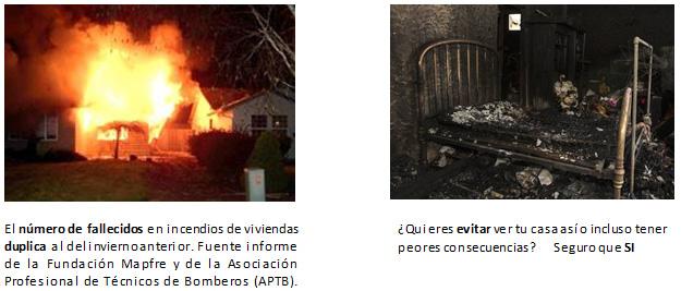 fuego chimenea incendio casa